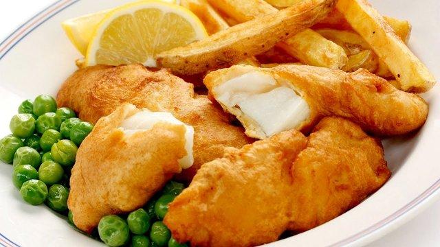 Смажена риба у картопляній стружці - фото 314981