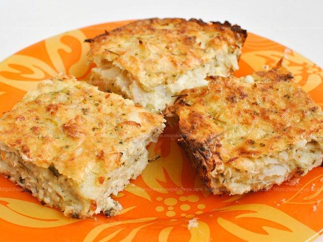 Запіканка з картоплі з рибою - фото 314983
