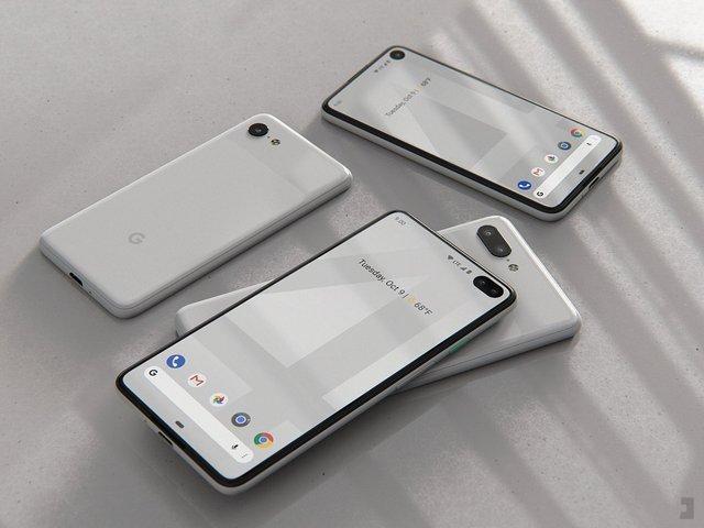 Google Pixel 4 показали на рендерах, і він нарешті без моноброви - фото 315233