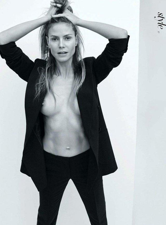 Моделі 90-х: як змінилася сексуальна німкеня Хайді Клум (18+) - фото 315358
