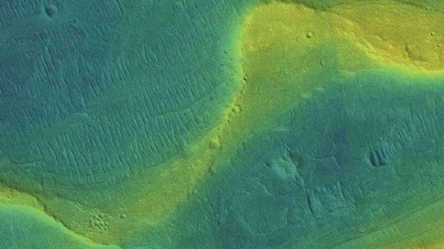 На Марсі колись були складні річкові системи, океани та льодовики - фото 317861