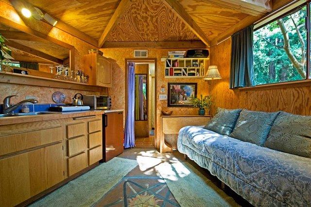 Хижа в лісі стала найпопулярнішим помешканням на Airbnb - фото 318003