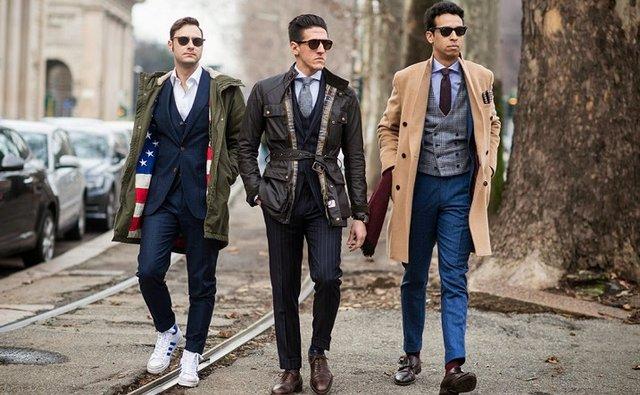 Як одягатися високим чоловікам - фото 318809