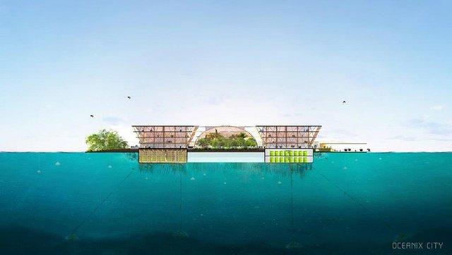 Як би виглядало сучасне місто на воді: бачення архітекторів - фото 319151
