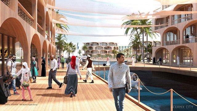 Як би виглядало сучасне місто на воді: бачення архітекторів - фото 319154