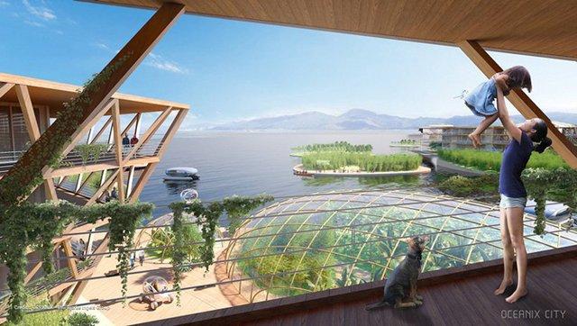 Як би виглядало сучасне місто на воді: бачення архітекторів - фото 319155