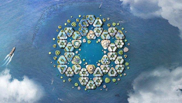 Як би виглядало сучасне місто на воді: бачення архітекторів - фото 319156