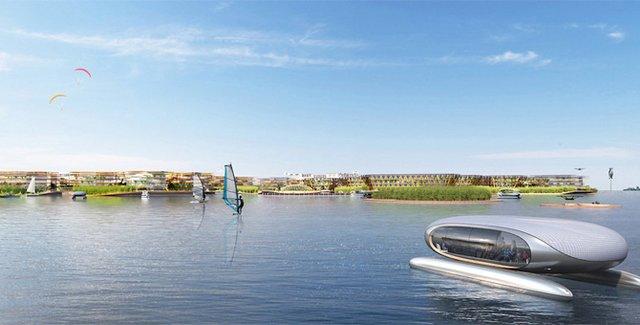 Як би виглядало сучасне місто на воді: бачення архітекторів - фото 319160