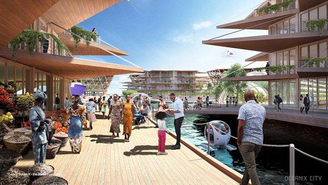 Як би виглядало сучасне місто на воді: бачення архітекторів - фото 319161