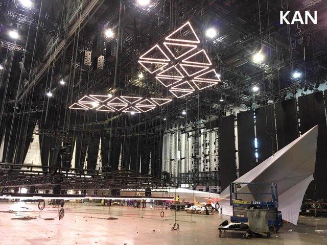 У Тель-Авіві почали монтувати сцену для Євробачення 2019: перші фото - фото 320691