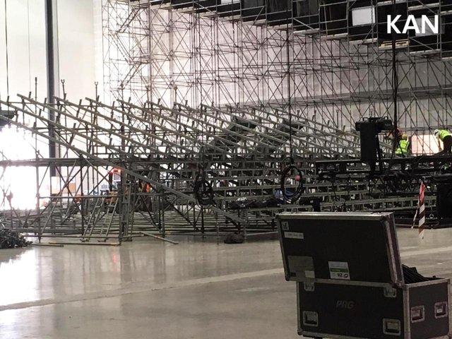 У Тель-Авіві почали монтувати сцену для Євробачення 2019: перші фото - фото 320692