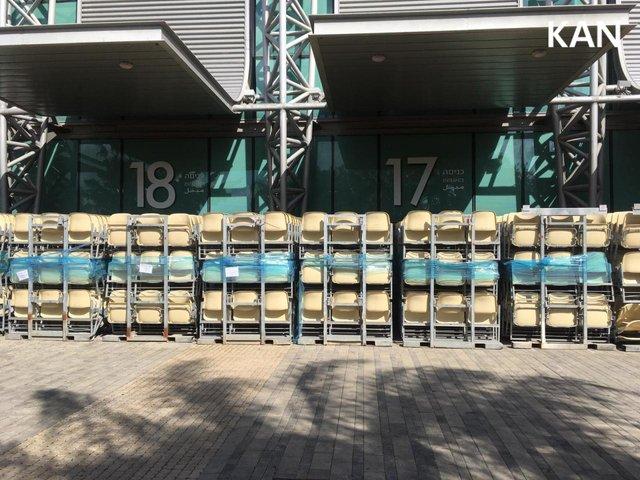 У Тель-Авіві почали монтувати сцену для Євробачення 2019: перші фото - фото 320693