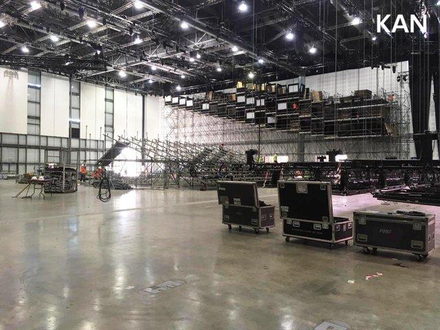 У Тель-Авіві почали монтувати сцену для Євробачення 2019: перші фото - фото 320694