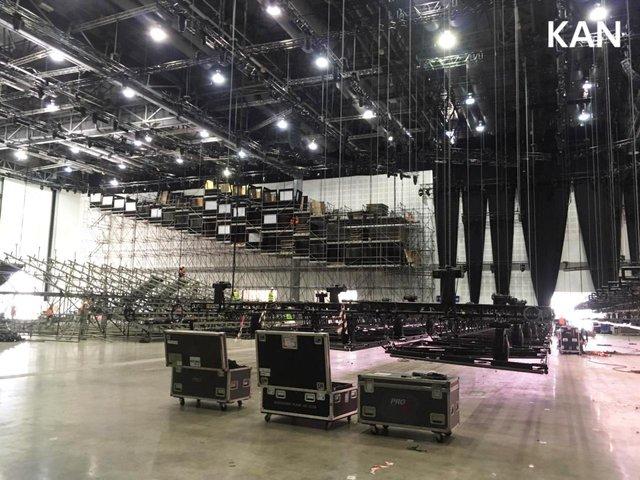 У Тель-Авіві почали монтувати сцену для Євробачення 2019: перші фото - фото 320695