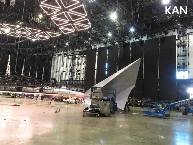 У Тель-Авіві почали монтувати сцену для Євробачення 2019: перші фото - фото 320697