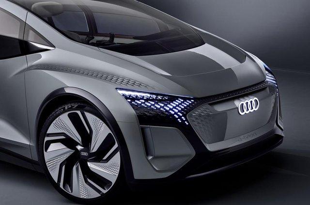 Audi показала конкурента електричного Volkswagen ID - фото 321477