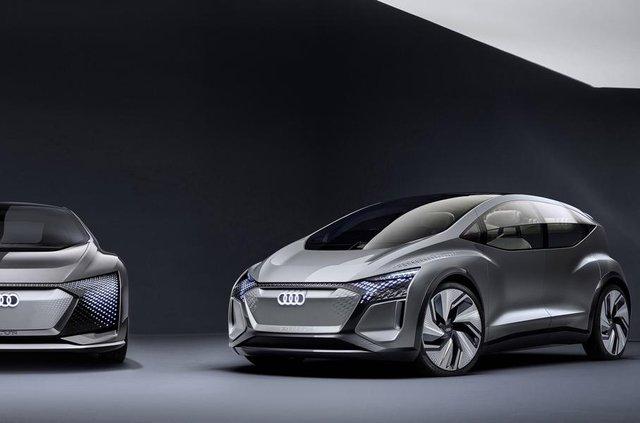 Audi показала конкурента електричного Volkswagen ID - фото 321486
