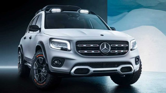 Mercedes-Benz офіційно показав кросовер Concept GLB - фото 321544