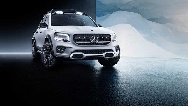 Mercedes-Benz офіційно показав кросовер Concept GLB - фото 321547