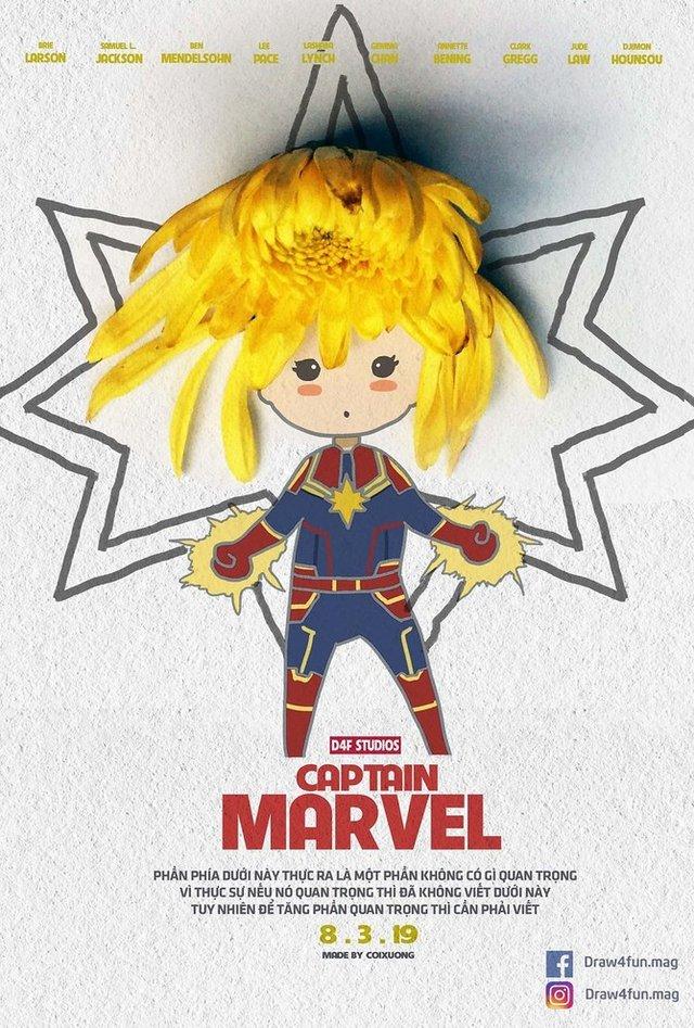 Художник створює кумедні постери з супергероями Marvel з підручних засобів - фото 321560