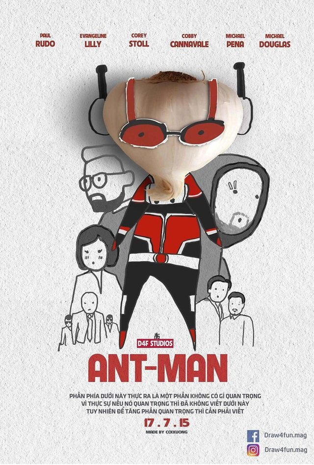 Художник створює кумедні постери з супергероями Marvel з підручних засобів - фото 321569