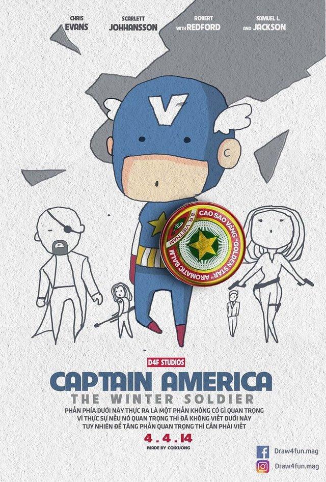 Художник створює кумедні постери з супергероями Marvel з підручних засобів - фото 321571