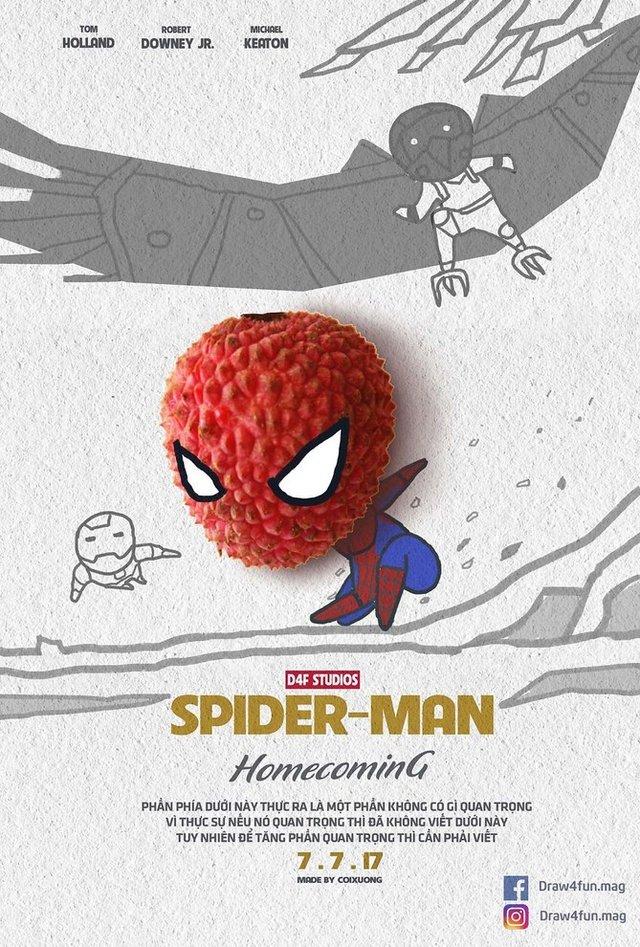 Художник створює кумедні постери з супергероями Marvel з підручних засобів - фото 321572