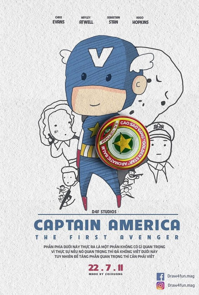 Художник створює кумедні постери з супергероями Marvel з підручних засобів - фото 321573