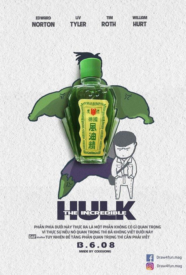 Художник створює кумедні постери з супергероями Marvel з підручних засобів - фото 321577
