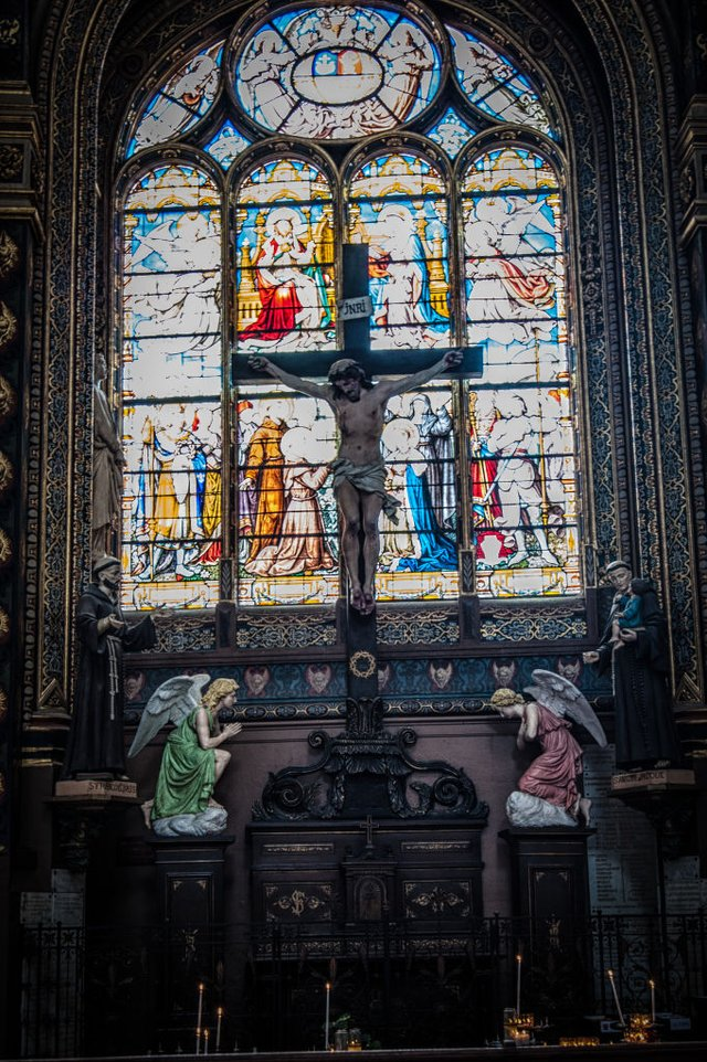 Інтер'єр собору в Парижі - фото 321629