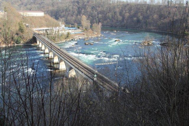 Казковий водоспад на Рейні  - фото 321764