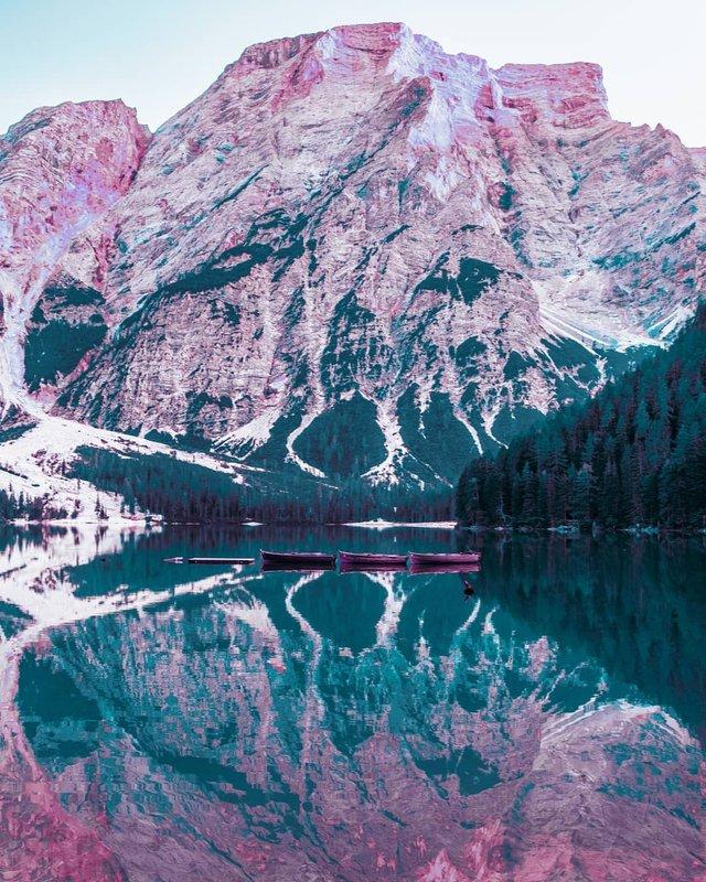 Рожевий сезон: захопливі фото світу у несподіваних кольорах - фото 322148