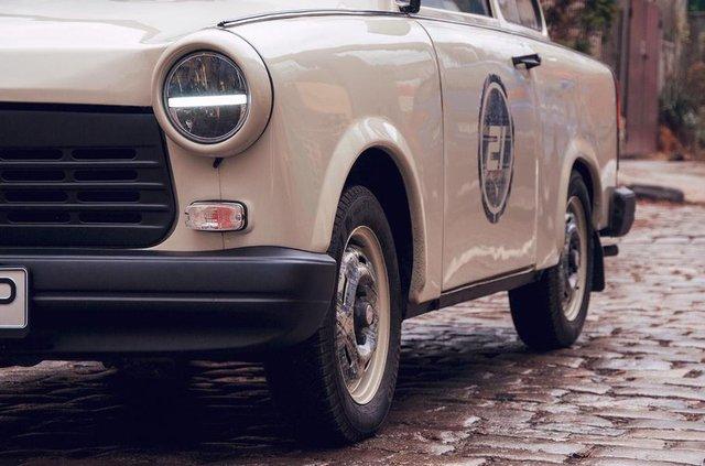 Справжня легенда: тюнер удосконалив старенький Trabant - фото 322306