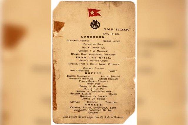 Історик розповів, чим частували пасажирів Титаніка - фото 322321