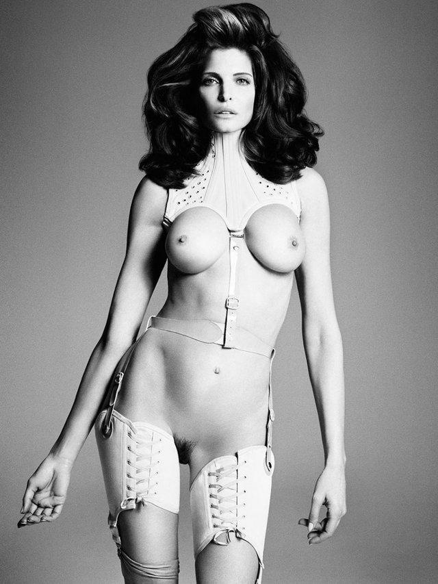 Моделі 90-х: як змінилася гаряча американка Стефані Сеймур (18+) - фото 322943