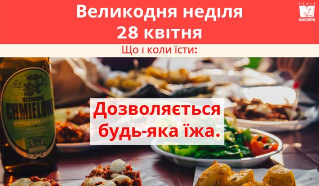 Що можна їсти у Страсний тиждень 2019: календар харчування по днях - фото 323171