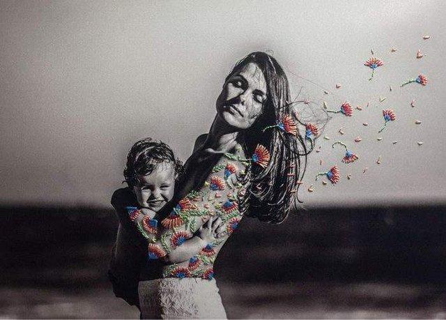 Художниця знайшла спосіб поєднати фотографію і вишивку - фото 323467