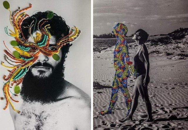 Художниця знайшла спосіб поєднати фотографію і вишивку - фото 323469