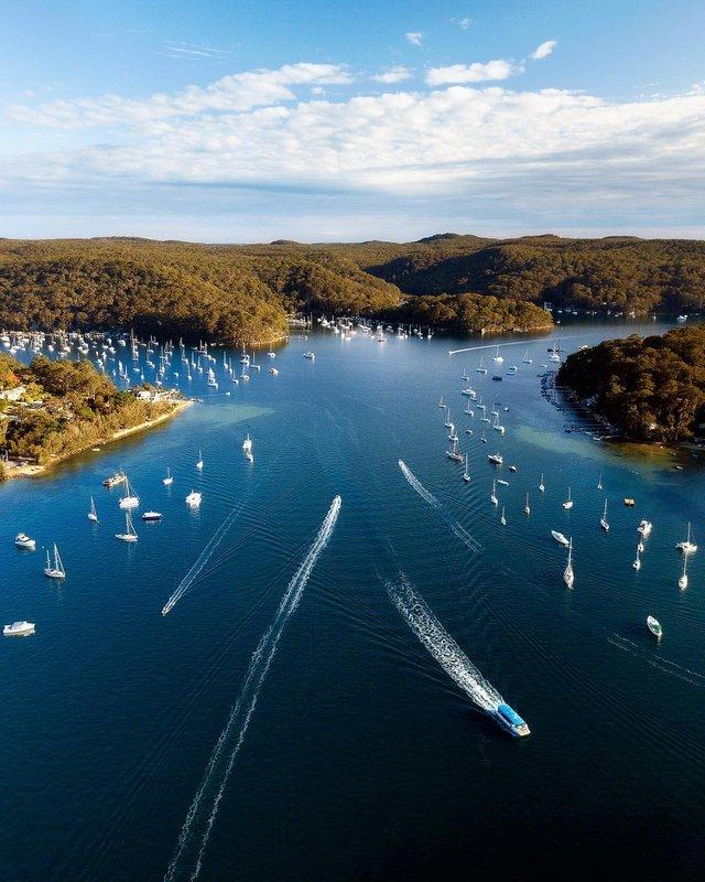 Захоплива Австралія з висоти пташиного польоту: яскраві фото - фото 323491