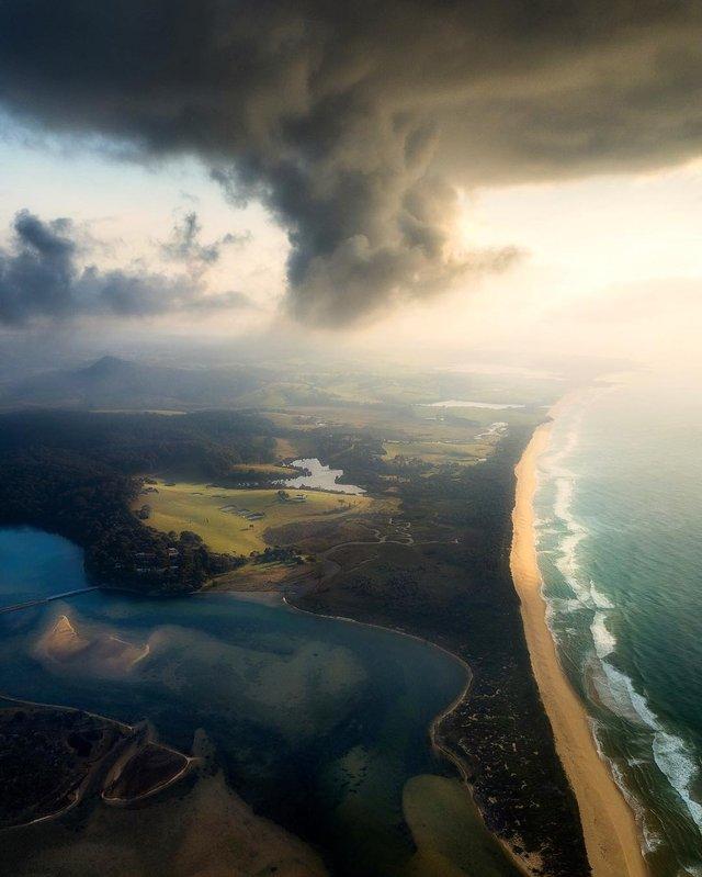 Захоплива Австралія з висоти пташиного польоту: яскраві фото - фото 323492