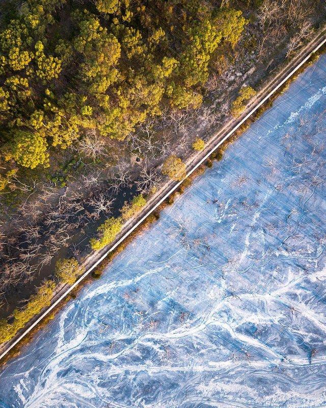 Захоплива Австралія з висоти пташиного польоту: яскраві фото - фото 323503