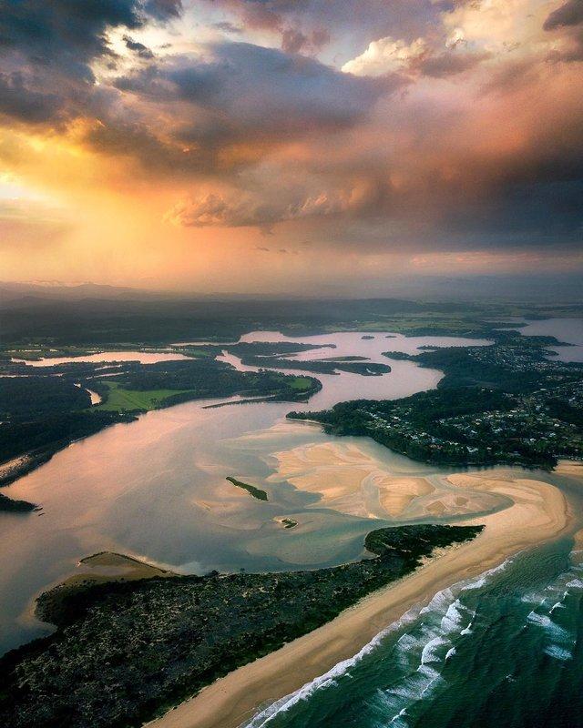 Захоплива Австралія з висоти пташиного польоту: яскраві фото - фото 323506