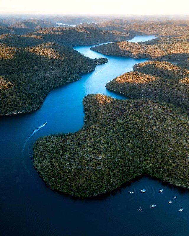 Захоплива Австралія з висоти пташиного польоту: яскраві фото - фото 323509