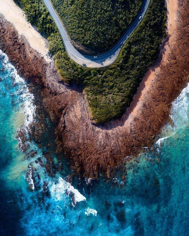 Захоплива Австралія з висоти пташиного польоту: яскраві фото - фото 323513