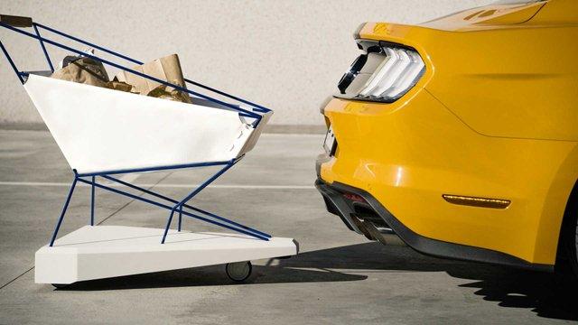 Колиска, ліжко, а тепер візок для супермаркету: Ford не перестає вражати - фото 324027