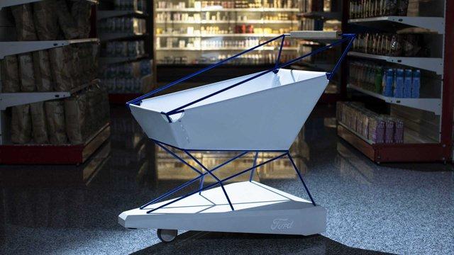 Колиска, ліжко, а тепер візок для супермаркету: Ford не перестає вражати - фото 324028