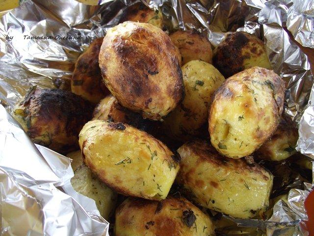 Картопля в маринаді на мангалі - фото 324053