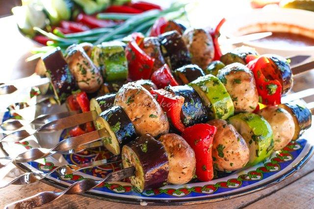 Овочі на шампурах  - фото 324054