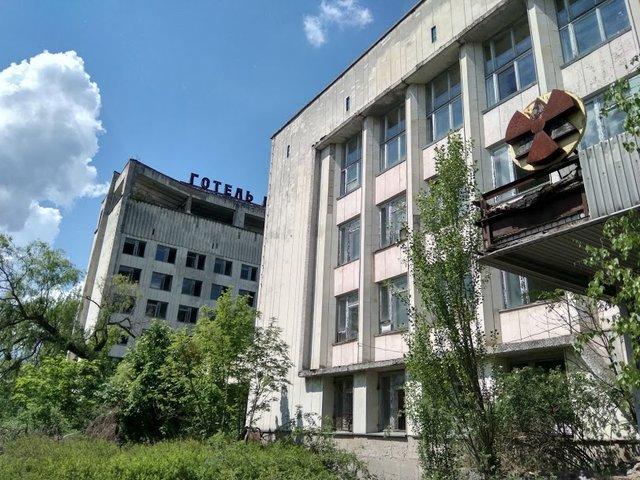 Будівлі в Прип'яті - фото 324105