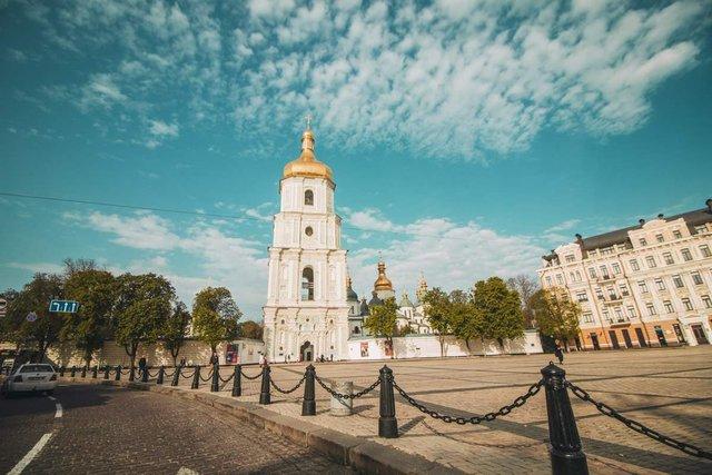 Як виглядав Київ у великодній ранок: чарівні фото - фото 324543